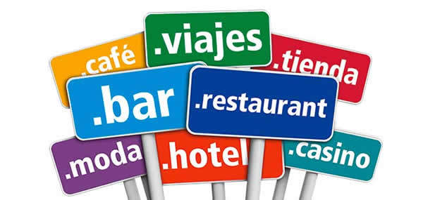 ¿Conoces los nuevos dominios para la hostelería?